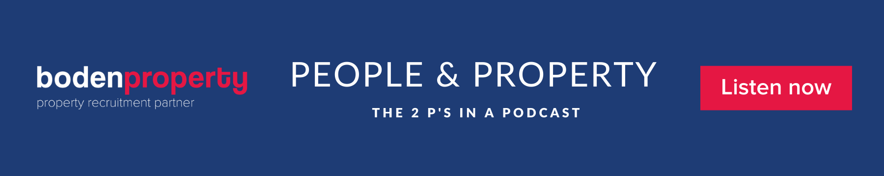 People & Property Podcast - Listen now