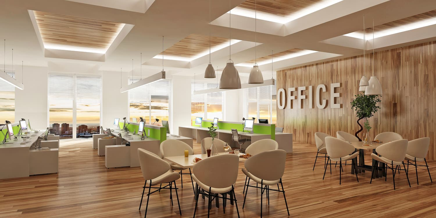Workplace wellbeing office