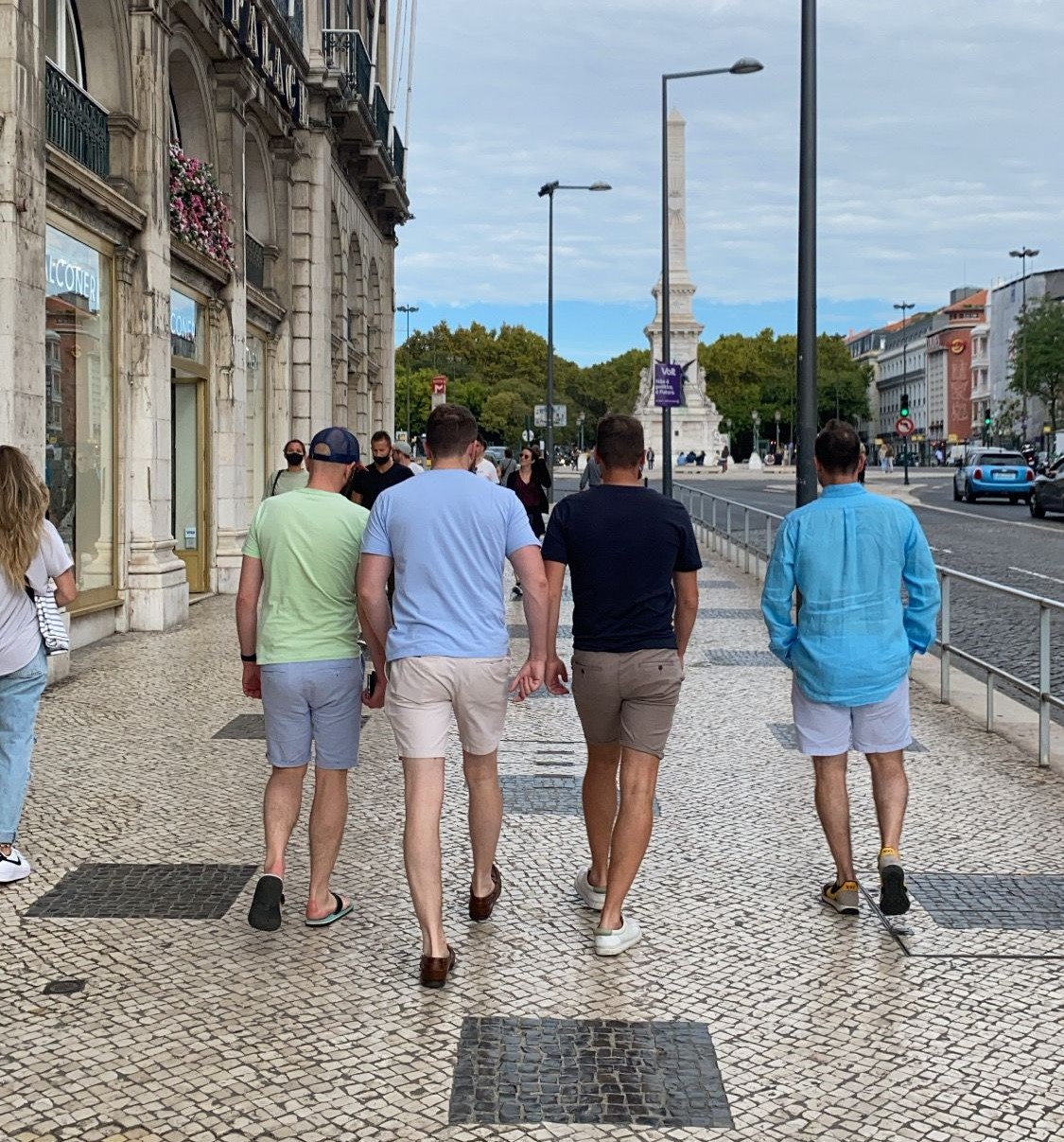 Overseas incentive trip Lisbon